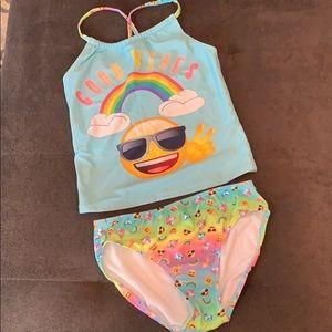 Emoji Tankini bathing suit